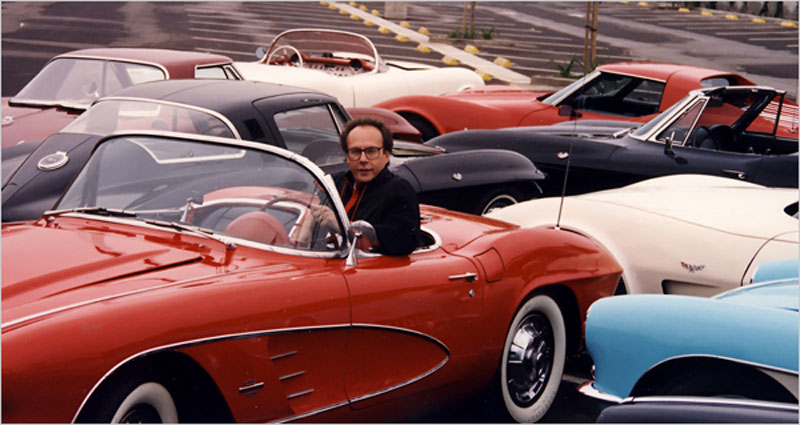 Peter Max slapped with lawsuit over sale of Corvette collection