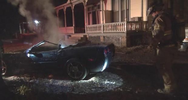 C5 Corvette - Victim of Arson in Arkansas