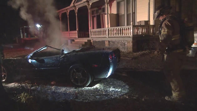 C5 Corvette – Victim of Arson in Arkansas