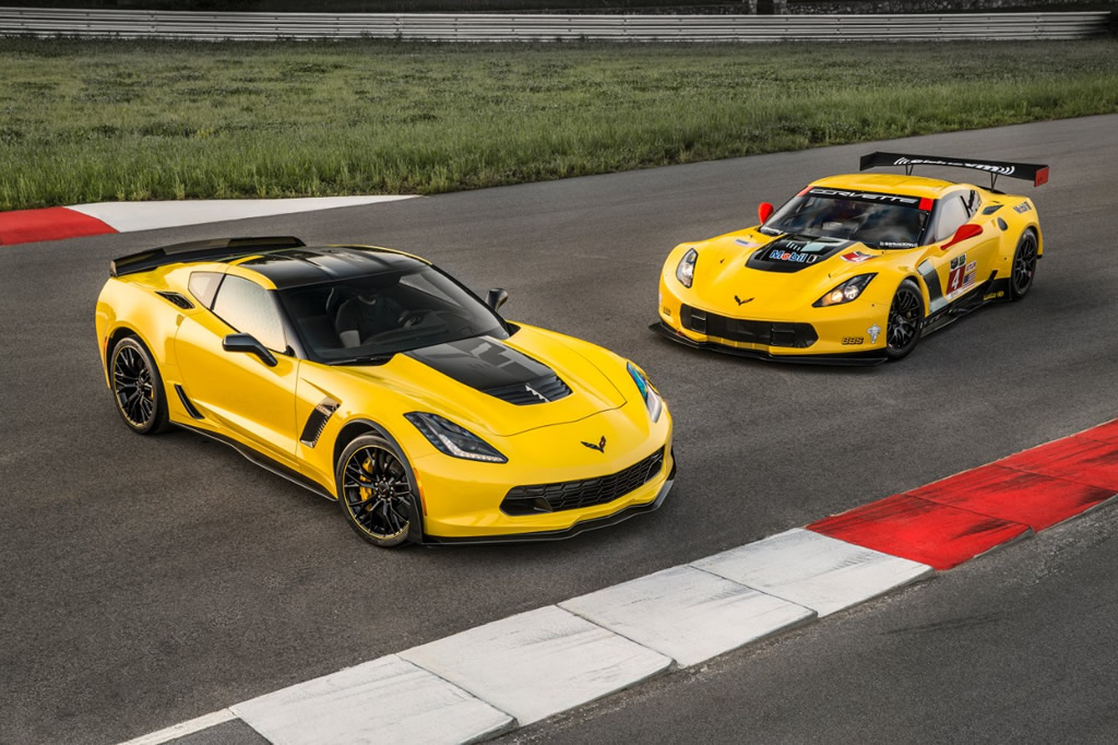 GM Press Release: Chevrolet Introduces 2016 Corvette Z06 C7.R Edition