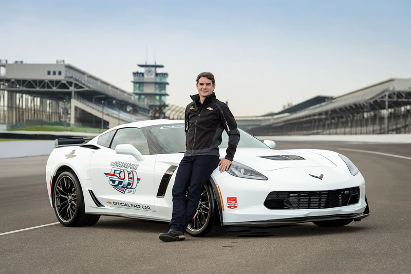 Jeff Gordon to Drive Corvette Z06 Indy 500 Pace Car