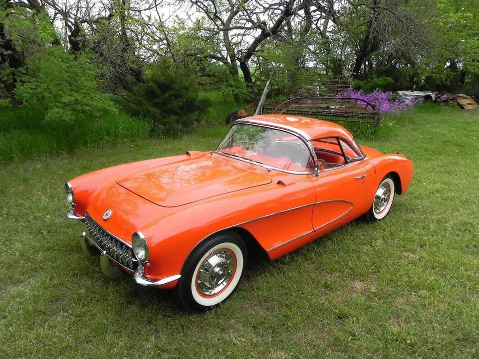 A 1957 Corvette Comes Home – A Second Time Around