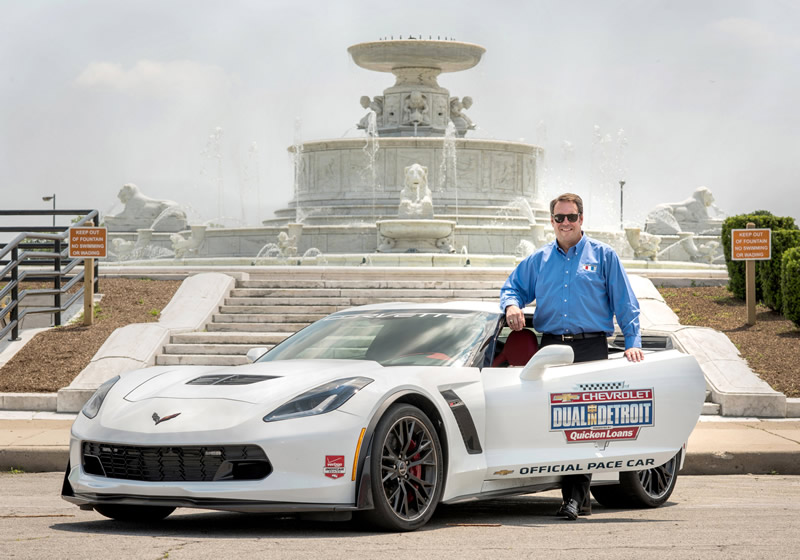 Press Release: Mark Reuss to Pace Detroit Grand Prix in Corvette Z06