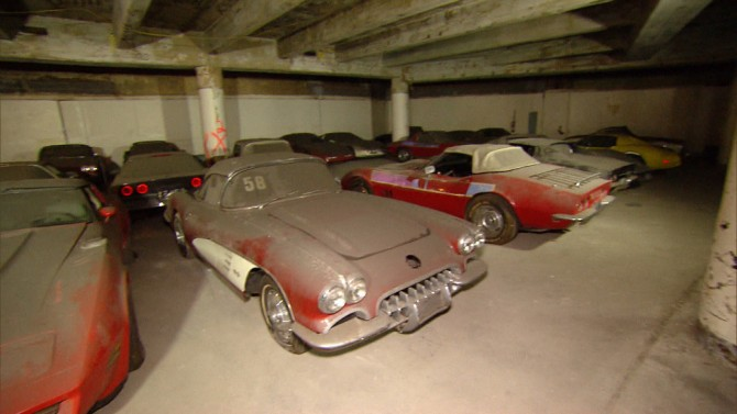 Video: This Corvette Warehouse Could Be Worth Millions