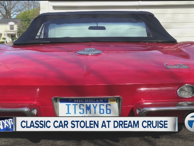 Birmingham, MI: Police search for convertible 1966 Corvette stolen from Dream Cruise