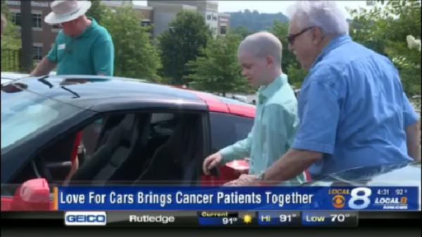 Video:  Cancer survivors from different generations bond over love for Corvettes