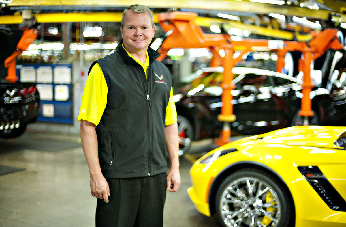 New plant manager feels at home amid Corvettes
