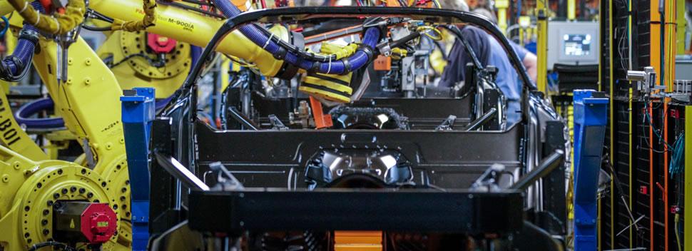 Paint Shop Construction Begins at Corvette Assembly Plant