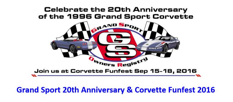 Grand Sport Corvette's 20th Anniversary Slated for Mid America Motorworks Corvette Funfest
