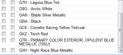 New Opulent Blue Metallic Color Coming for the 2017 Corvette!