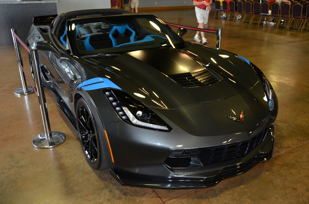 2017 Corvette Grand Sport Z25 Collector Edition in all its Glory