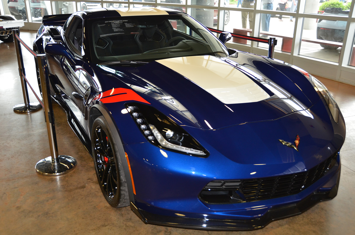 Chevrolet Releases Initial Pricing on 2017 Corvette Grand Sport