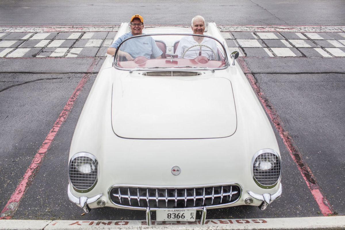 Man Reunited with his 1954 Corvette 30 Years After Selling It