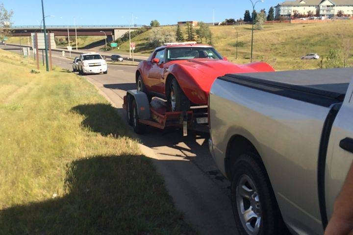 Canada: Calgary Man Arrested After Stealing 1976 Corvette with a U-Haul