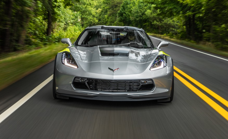 Car And Driver Road Tests A Manual Equipped 2017 Corvette Grand Sport