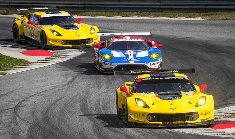 CORVETTE RACING AT LIME ROCK PARK: One-Two Finish on an Historic Day
