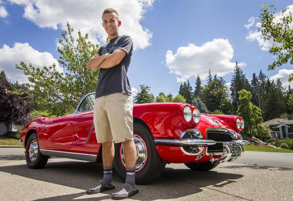 Grandfather's 1962 Corvette Holds a Special Place in his Grandson's Heart