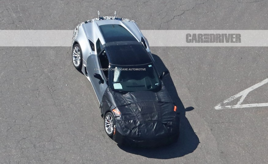 New Spy Photos of 2018 Corvette ZR1 Hint at Active Aerodynamics