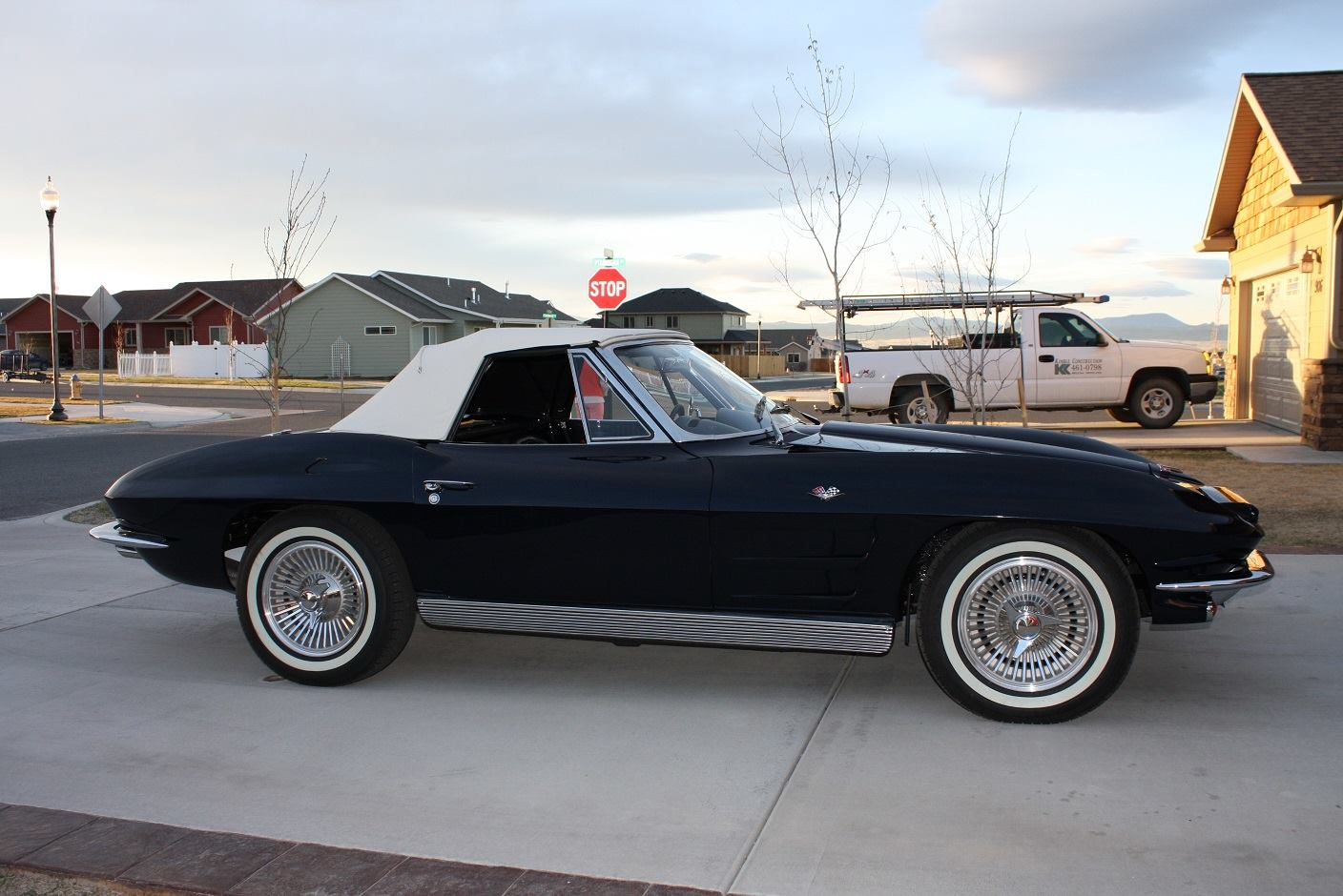 [FOUND] Daytona Blue 1963 Corvette Convertible Stolen in Helena, Montana