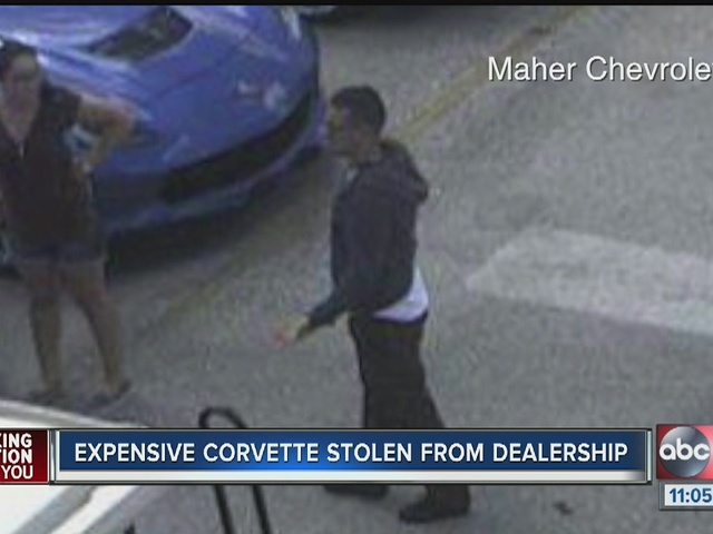 2016 Corvette Z06 Stolen from Florida Chevrolet Dealership