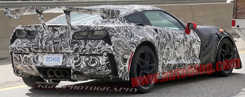 2018 Corvette ZR1 Test Mules Takes a Bow for the Camera