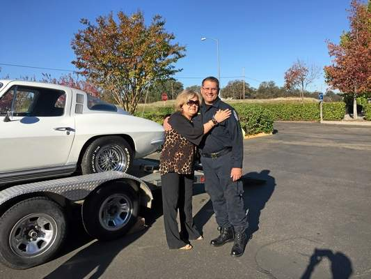 Arizona Woman Reunited with her Stolen 1964 Corvette 40 Years Later in California