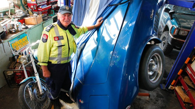 1972 Corvette Falls Victim to New Zealand Earthquake