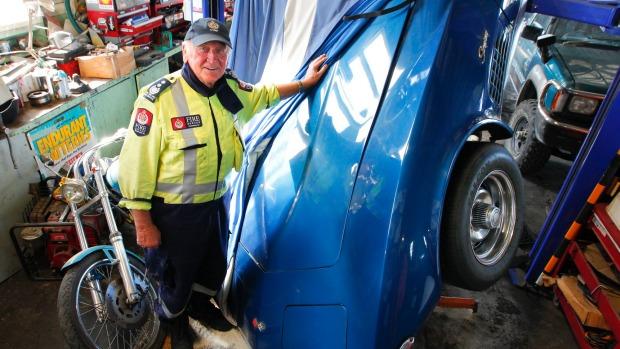 1972 Corvette Falls Victim to New Zealand Earthquake