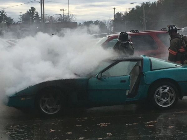 [New Hampshire] 1986 Corvette Burns to the Ground Due to Electrical Issue