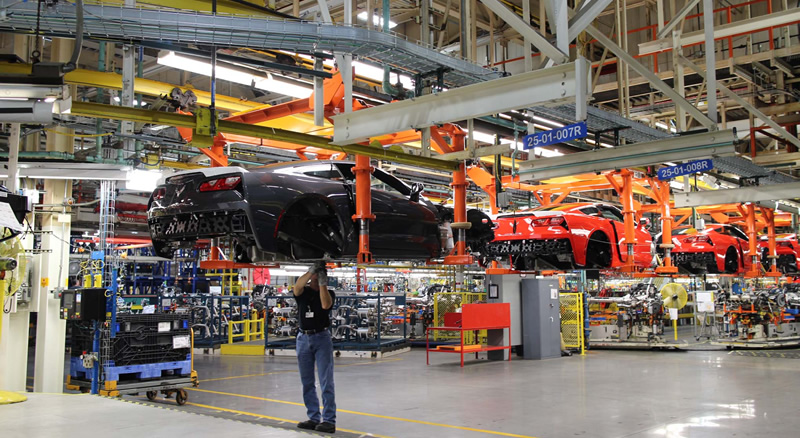 [UPDATED] Bowling Green Corvette Assembly Plant to Temporarily Close for One Week in January