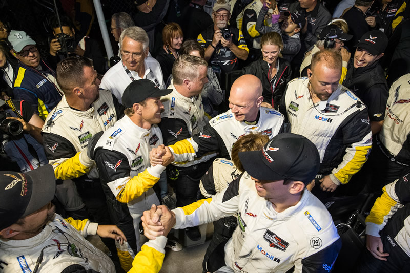 Corvette Racing Driver Lineup to Remain Unchanged for 2017