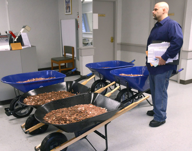 Virginia Man Gets Revenge Against DMV by Paying Corvette Sales Tax with 300,000 Pennies