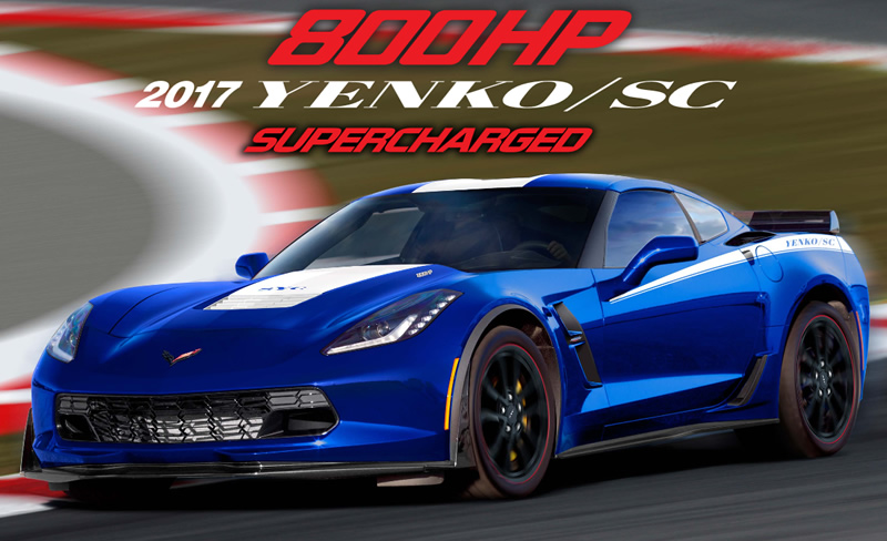 Yenko Returns with a Limited Edition 800 HP C7 Corvette