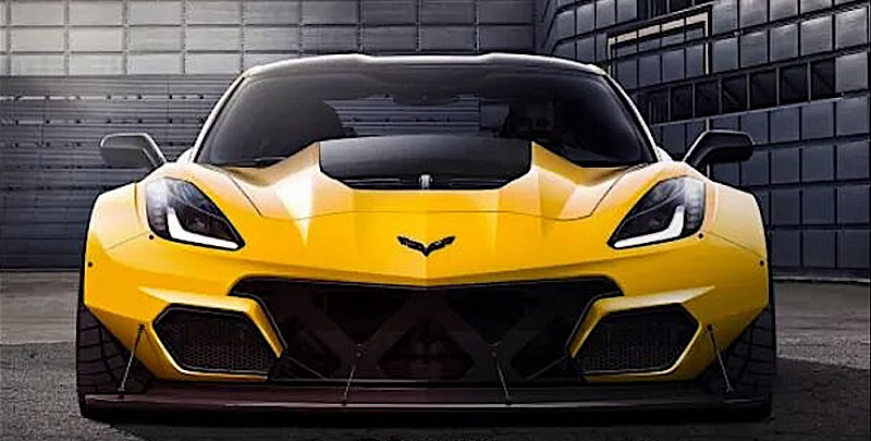 More Proof the 2018 Corvette ZR1 is Coming!