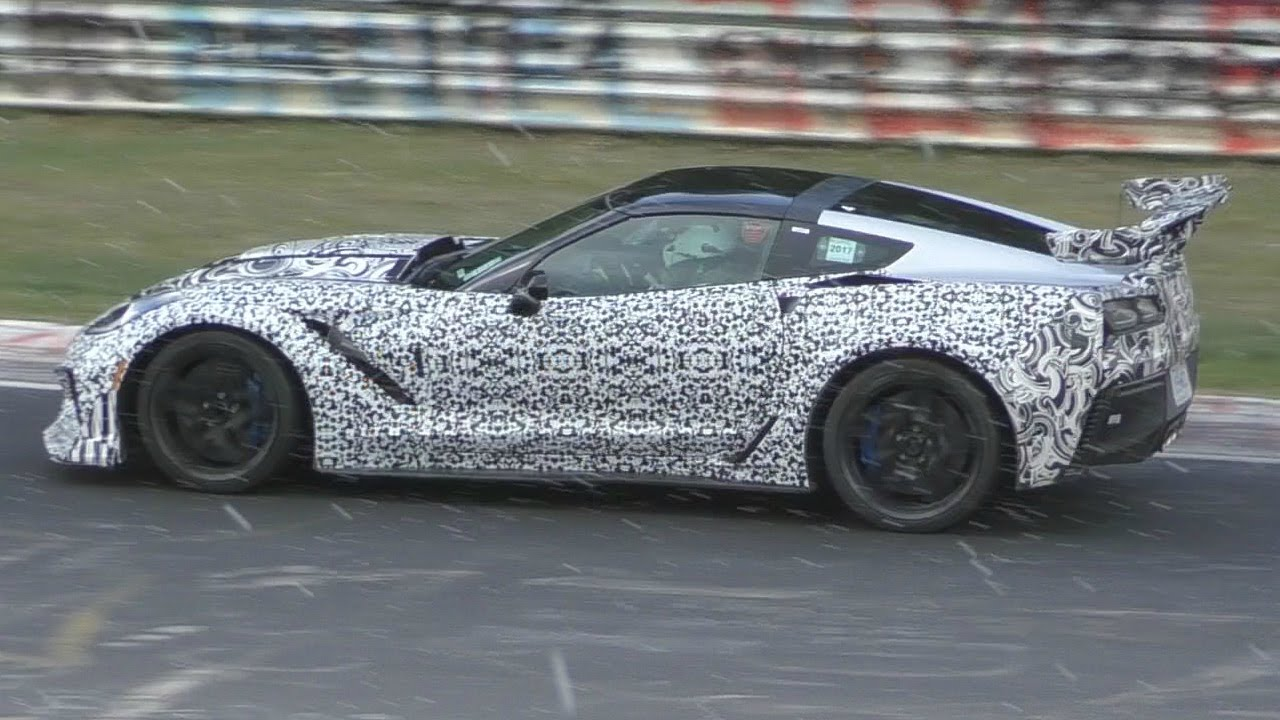 [VIDEO] Watch and Listen to the 2018 Corvette ZR1 Take on the Nurburgring