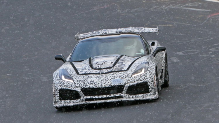 [SPY PHOTOS] 2018 Corvette ZR1 Takes on the Nurburgring