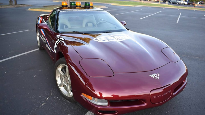 2003 50th Anniversary Corvette 24 Hours of Le Mans Safety Car Heading to Auction