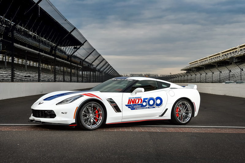 2017 Corvette Grand Sport Will Pace the 101st Indianapolis 500