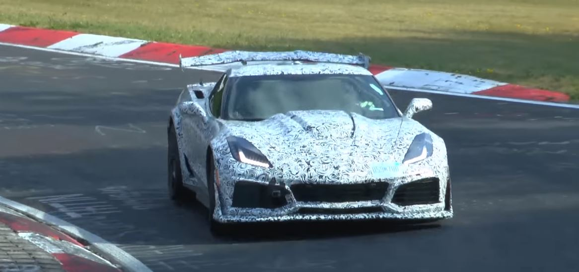 [SPY VIDEO] 2018 Corvette ZR1 Spotted on the Nürburging with a Nose Camera