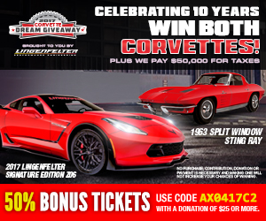 Free Shipping Offer from Corvette Central