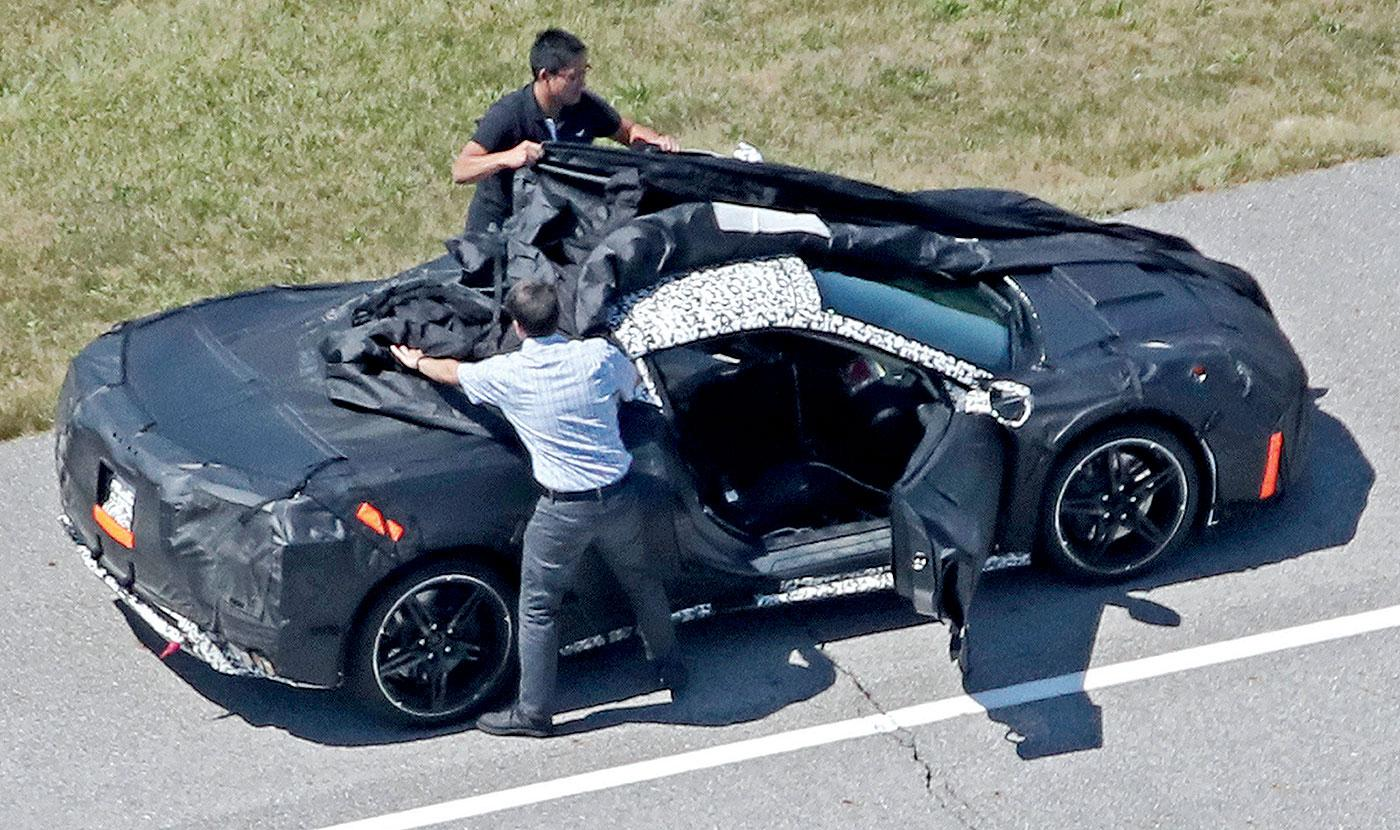 Spy Shots and Rumors Shed a Little More Light on the Mid-Engine Corvette