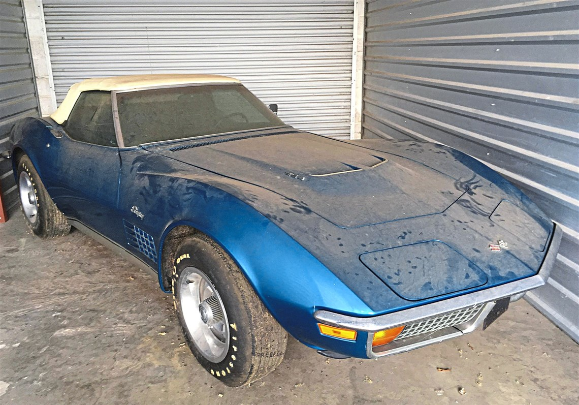 Unearthed:  1972 Corvette 454 With Only 967 Miles!