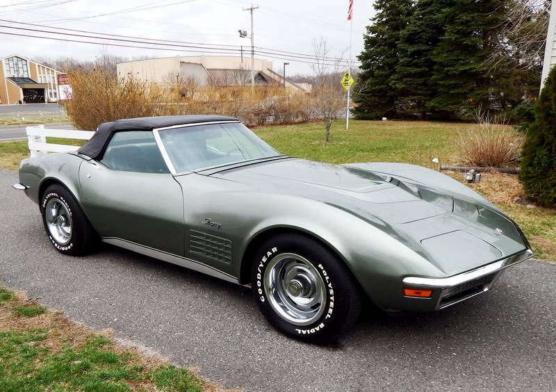 For Sale – The Only 1971 Corvette ZR1 Convertible Ever Built