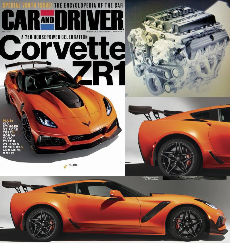 REVEALED!  2019 Corvette ZR1 Breaks Cover with Video!