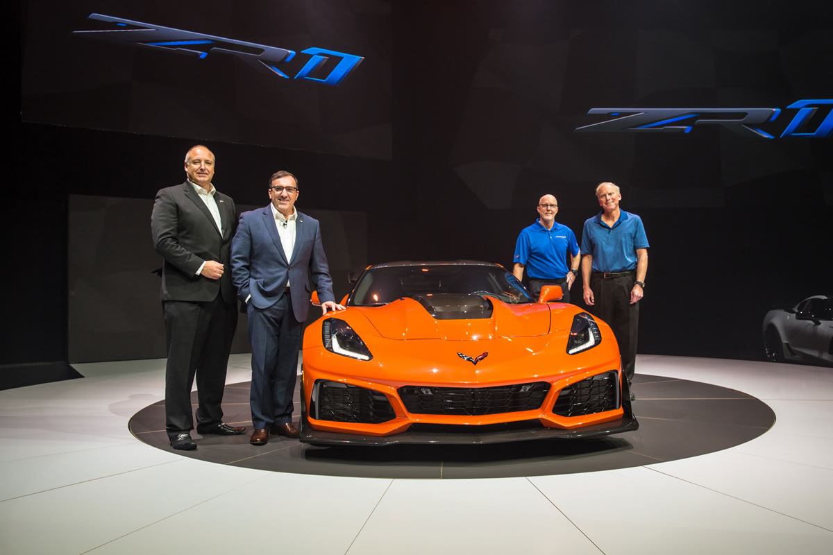 2019 Corvette ZR1 is now Configurable in GM's System and Additional Details