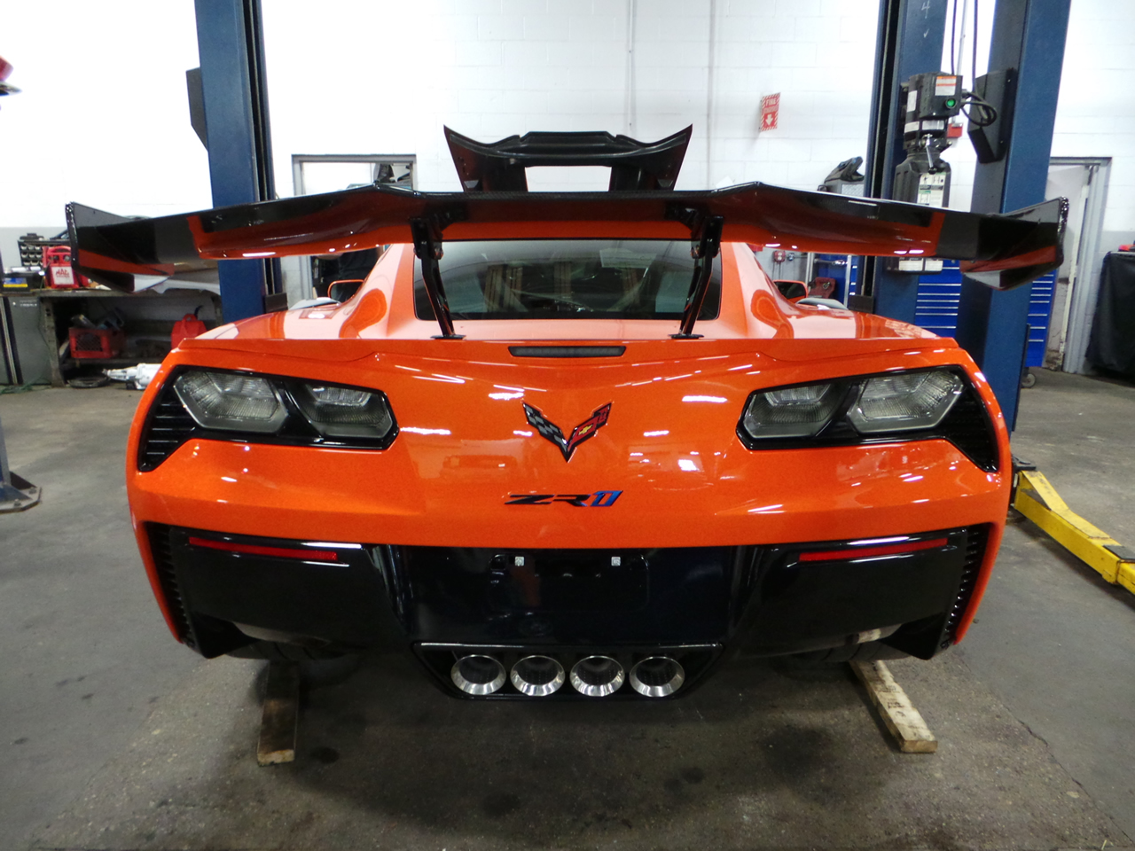 First 2019 Corvette ZR1 Arrives in New England