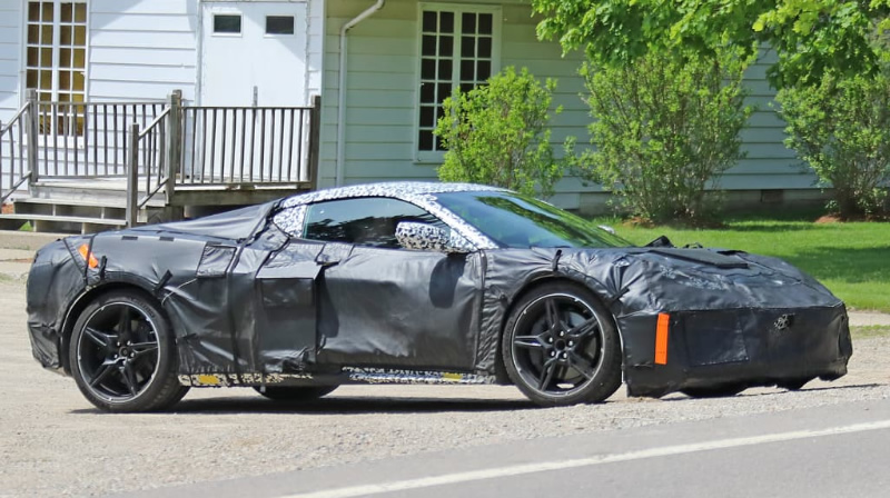 Spy Photos and Video Reveal More About the 2020 Mid-Engine Corvette