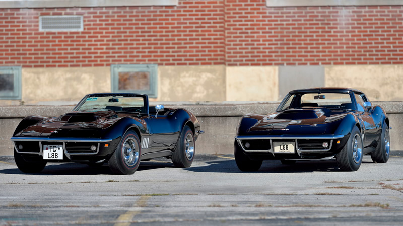 Pair of 1969 L88 Corvettes Up For Auction by Mecum