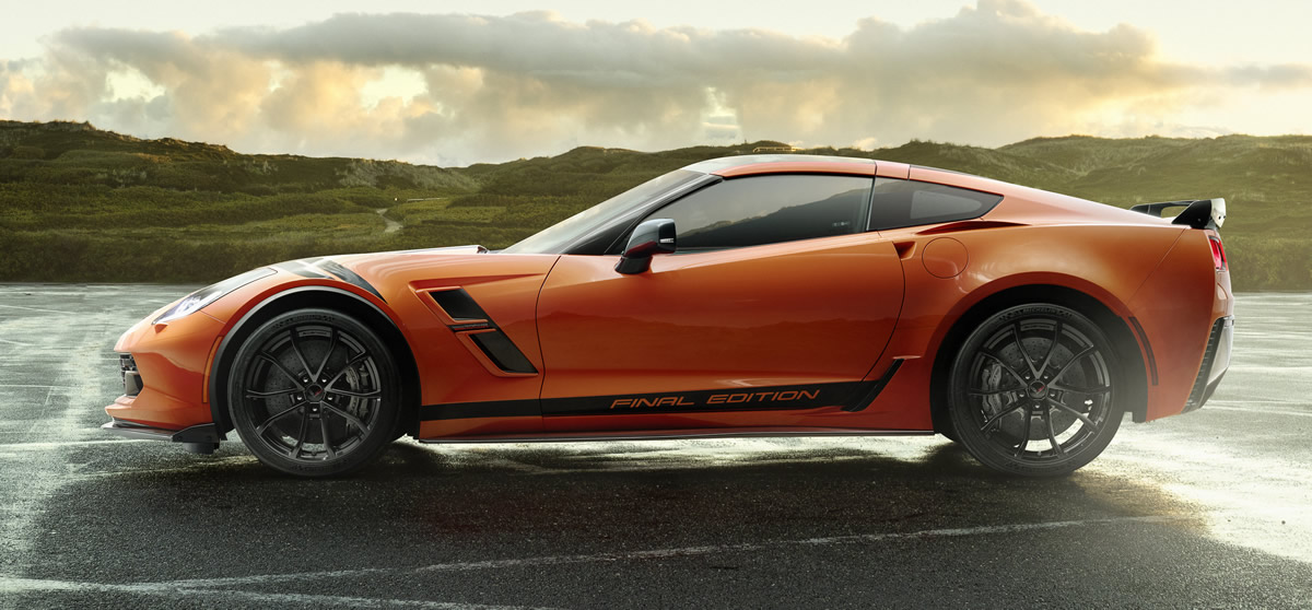 Chevrolet Unveils 2019 Corvette Grand Sport and Z06 Final Editions for Europe