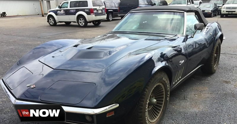 After 44 Years, Owner Gets His 1969 Corvette Back